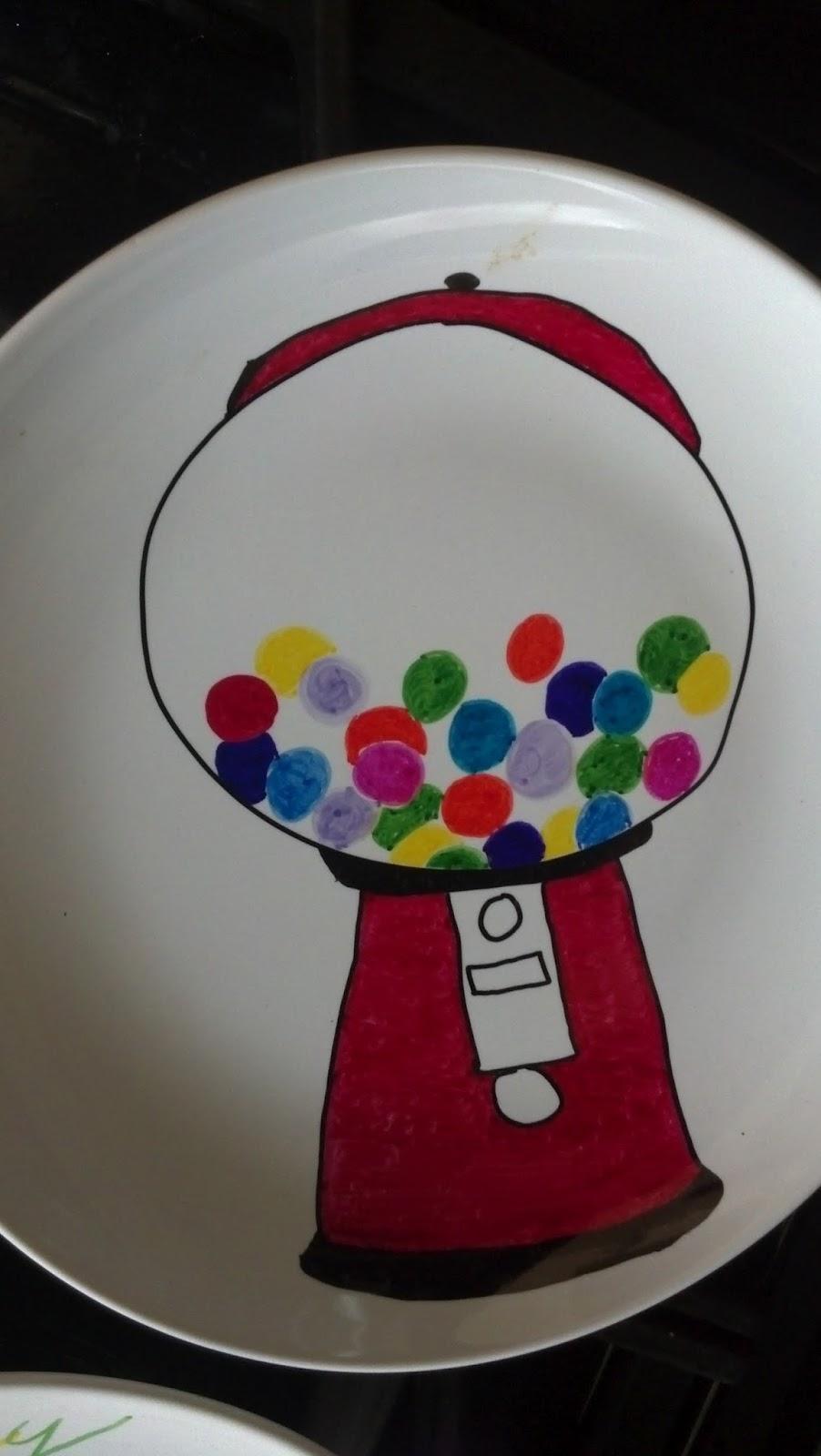 Back to the Basics! & Back to the Basics!: DIY Plate Decorating