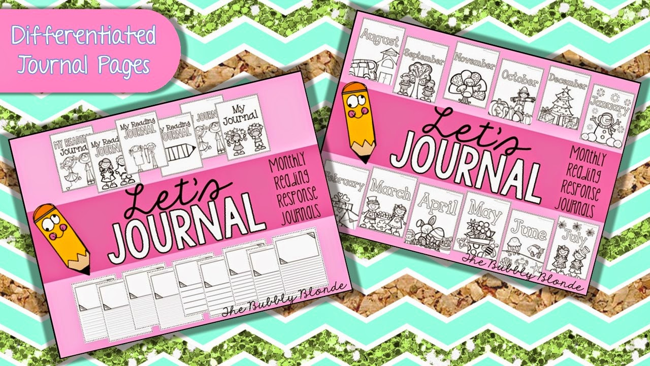 http://www.teacherspayteachers.com/Product/Monthly-Reading-Journals-Responding-to-the-textstory-289273