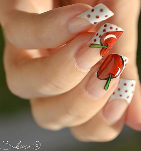 70 Most Beautiful 3d Nail Art Design Ideas For Trendy Girls: Gup Shup: Latest Beautiful Nail Designs For Girls