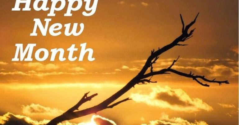 Happy New Month Have a Fantastic February Lysterfield Hills sunset tree greeting meme photo 762383 happy new month,New Month Meme