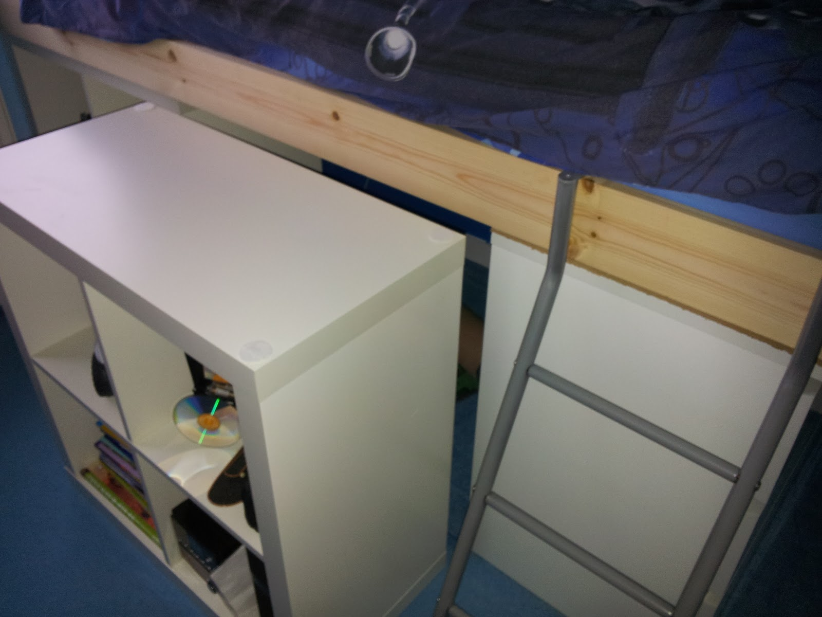 Salvage savvy bedtime the ikea hack way for Box bimbi ikea