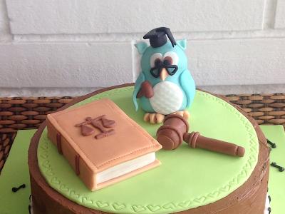 tarta para una abogada