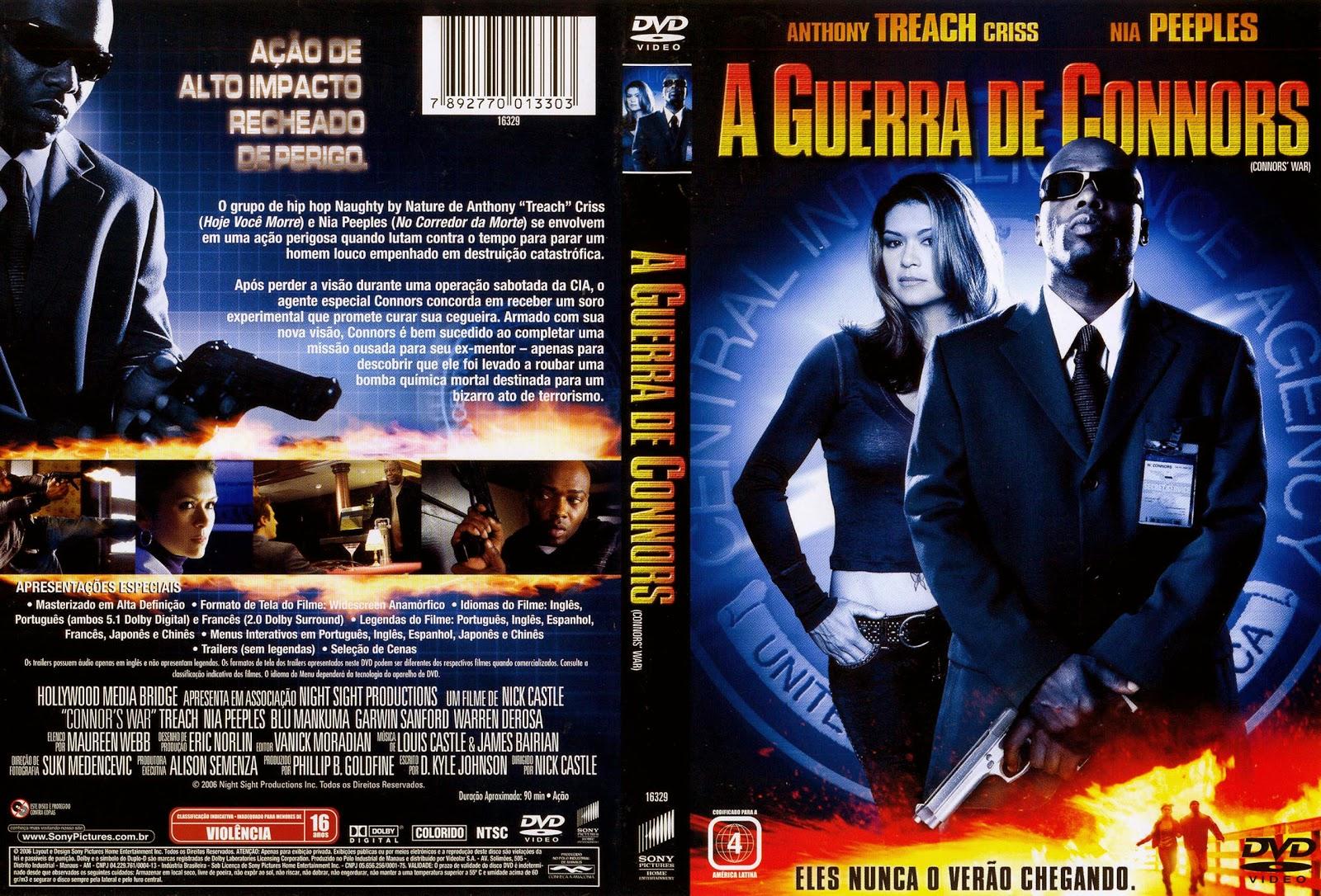 Capa DVD A Guerra De Connors