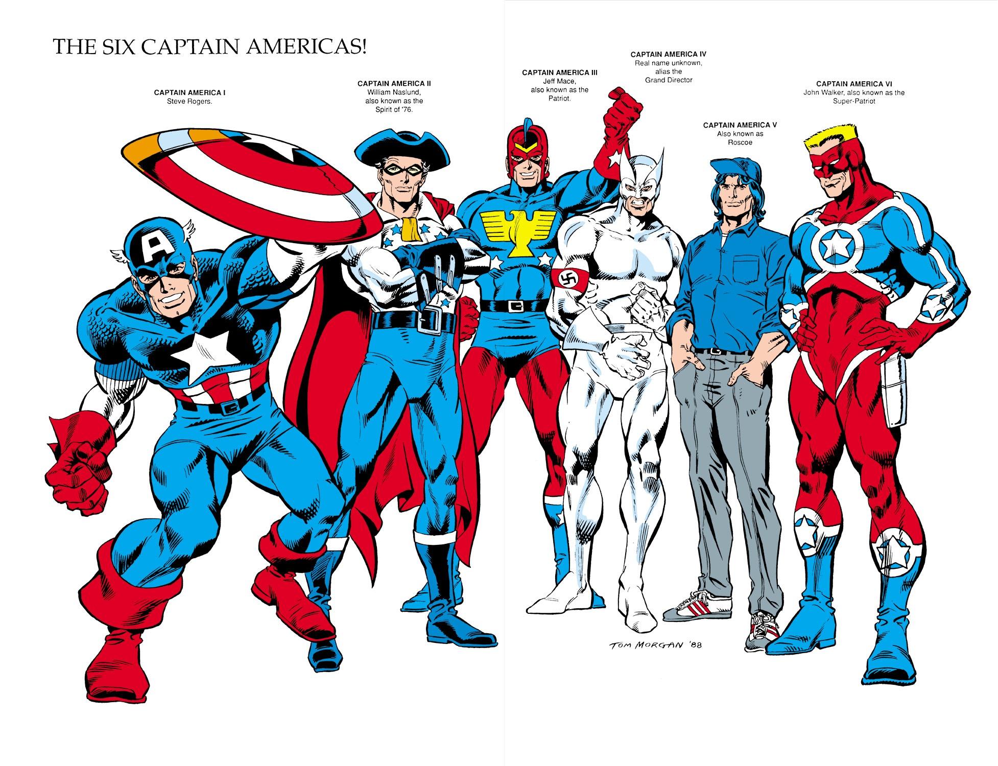 Captain America (1968) Issue #350 #282 - English 44