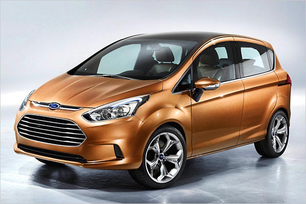 Offizielles Bild! Ford B-Max 2012 bald auf dem Markt!