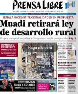 diario prensa libre 20-10-12