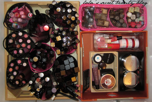 lola's secret beauty blog: By Request: How I Currently Store My Lip Product Stash!