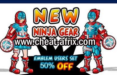 Patriot Battle Suit NInja Saga Special Gear 2013