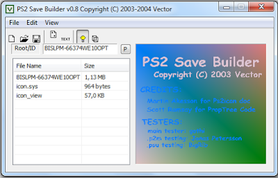 Ps Save Game Builder
