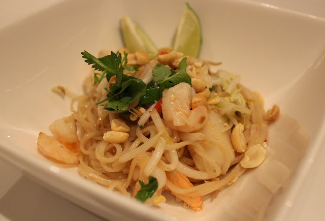 Pad Thai met zeevruchten