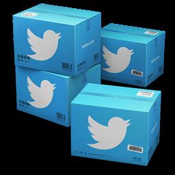 Twitter Boxes Icon