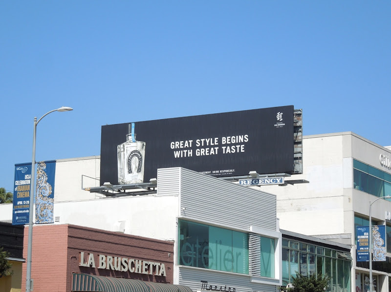 Herradura Tequila Great style taste billboard