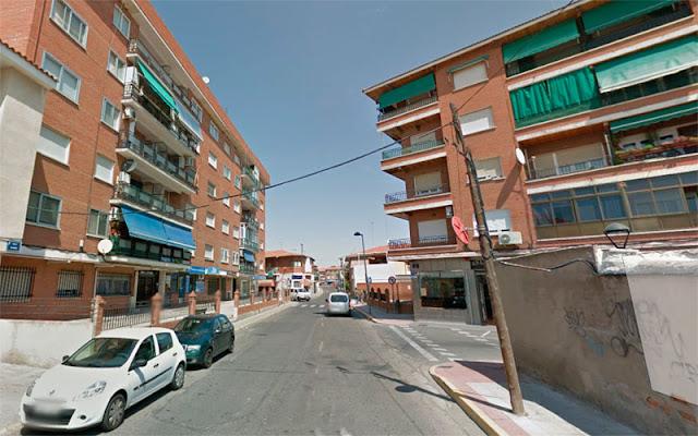 Calle Alameda de Illescas, imagen Google Maps