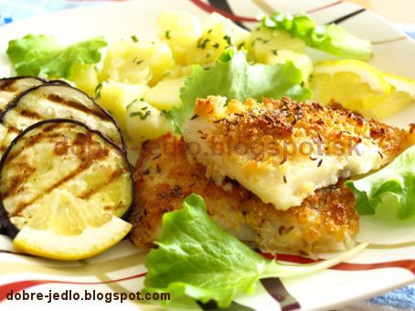 Morská šťuka s baklažánom - recepty