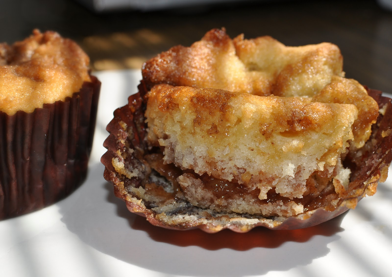 Apple Pie Muffins ~ Whimsical Cookery