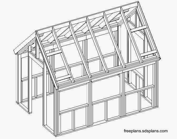 Planos De Casas De Madera on wood lean to carport plans
