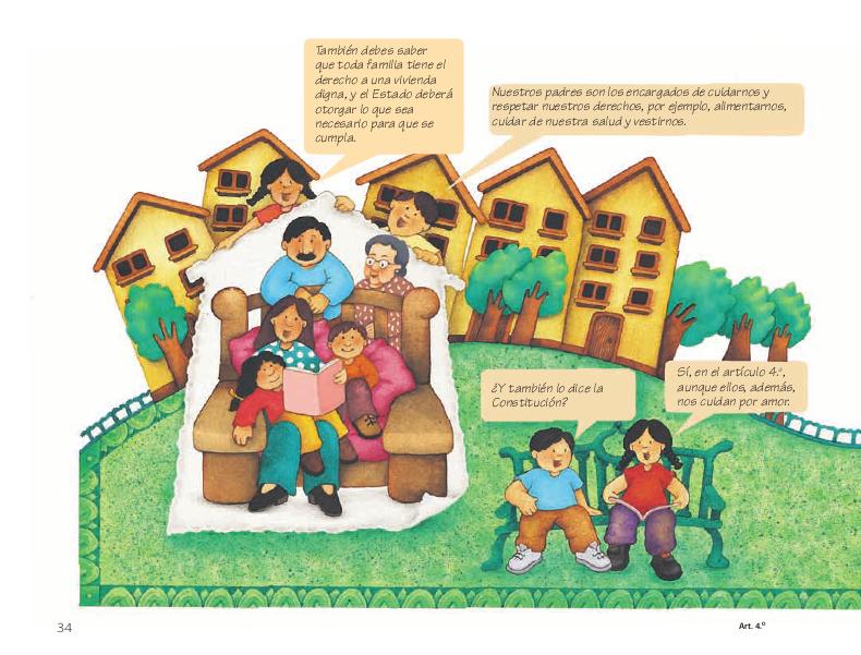 Derechos sociales - Conoce nuestra Constitución 4to 2014-2015