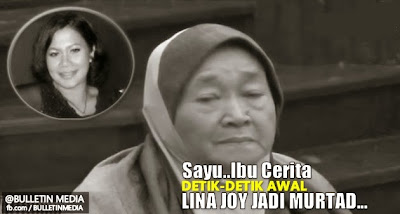 Sayu..Ibu Cerita Detik-detik Awal Lina Joy Jadi Murtad..