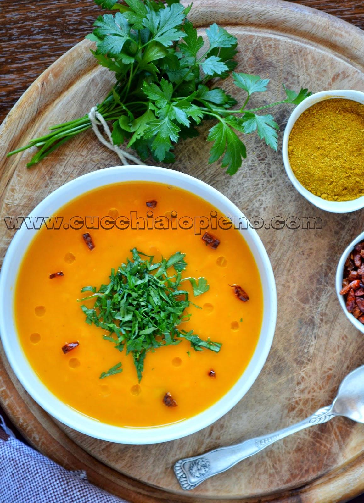 sopa de batata-doce indiana
