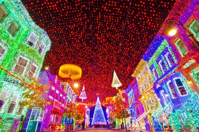 Natal Disney Hollywood Studios Spectacle of Dancing Lights