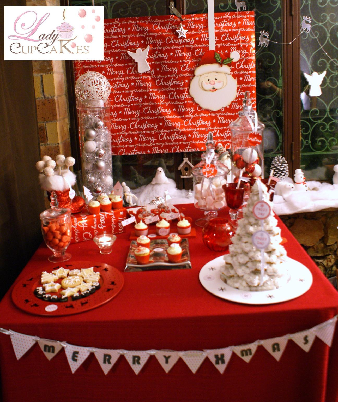 #B82413 Lady Cupcakes: La Xmas Sweet Table Noel 2011 6191 decoration de table de noel gratuit 1296x1541 px @ aertt.com