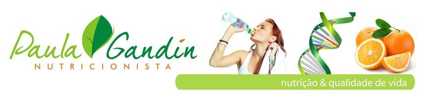 Paula Gandin - Nutricionista