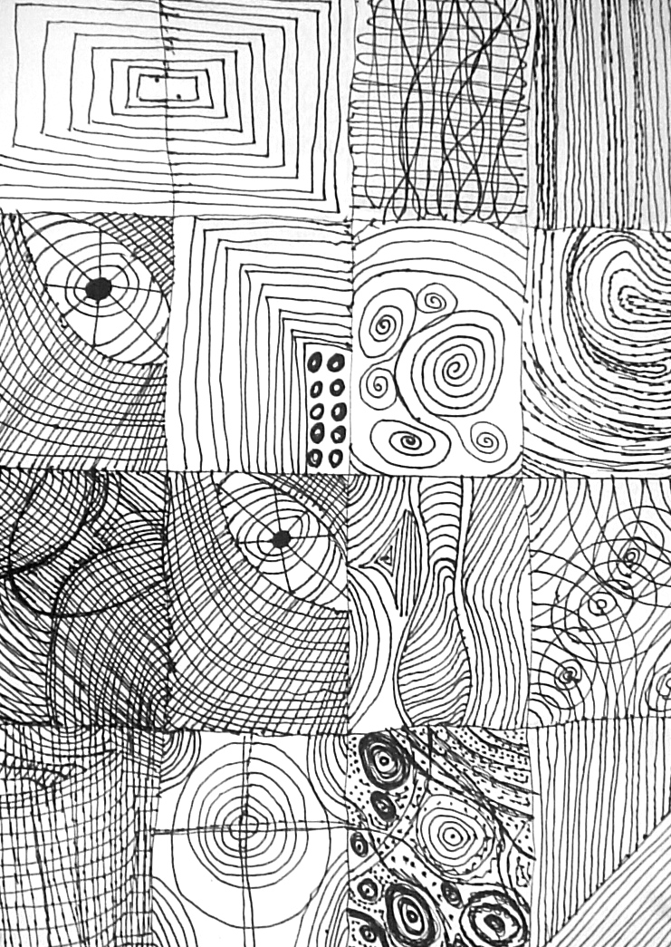 Line Designs In Art : Line designs