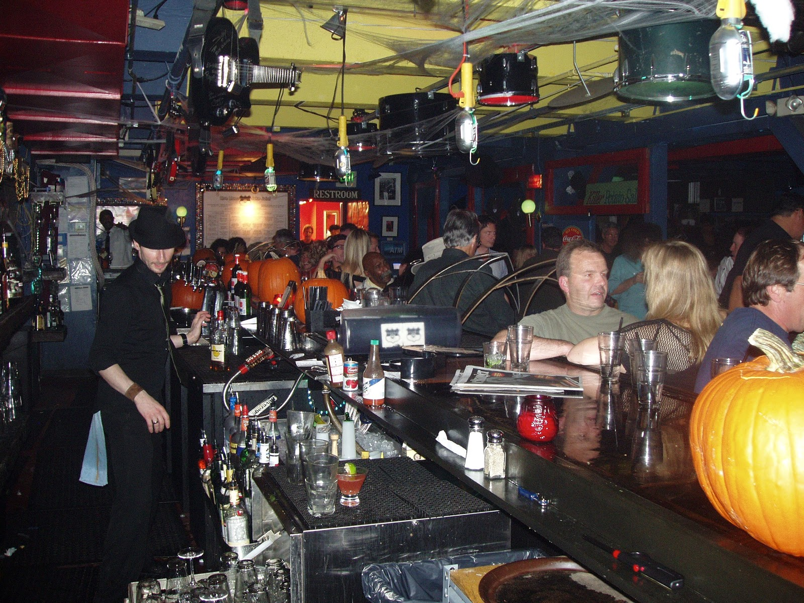 Yes I Got My Funk On As Did The Near Capacity Crowd Here Is A Shot Down Bar See Highway 99 Blues Club Highway99blues
