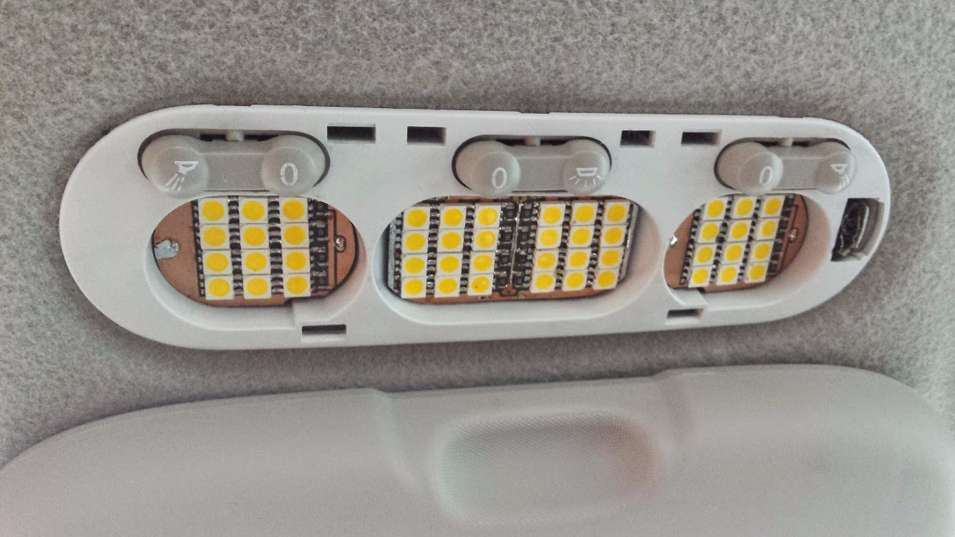Plafoniere Per Auto A Led : Tutoriale pentru dacia logan lumini suplimentare in habitaclu