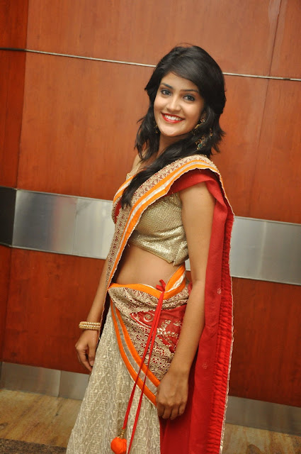 Krupali dazzling Pics in Lovely Saree