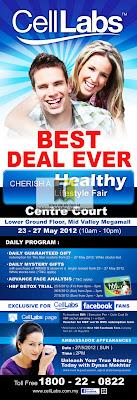 CellLabs Cherish a Healthy Lifestyle Fair