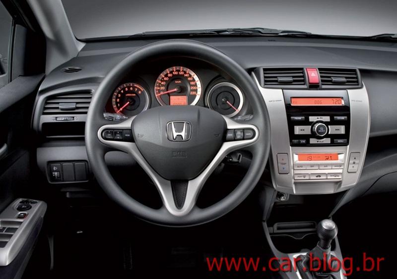 Honda City-painel