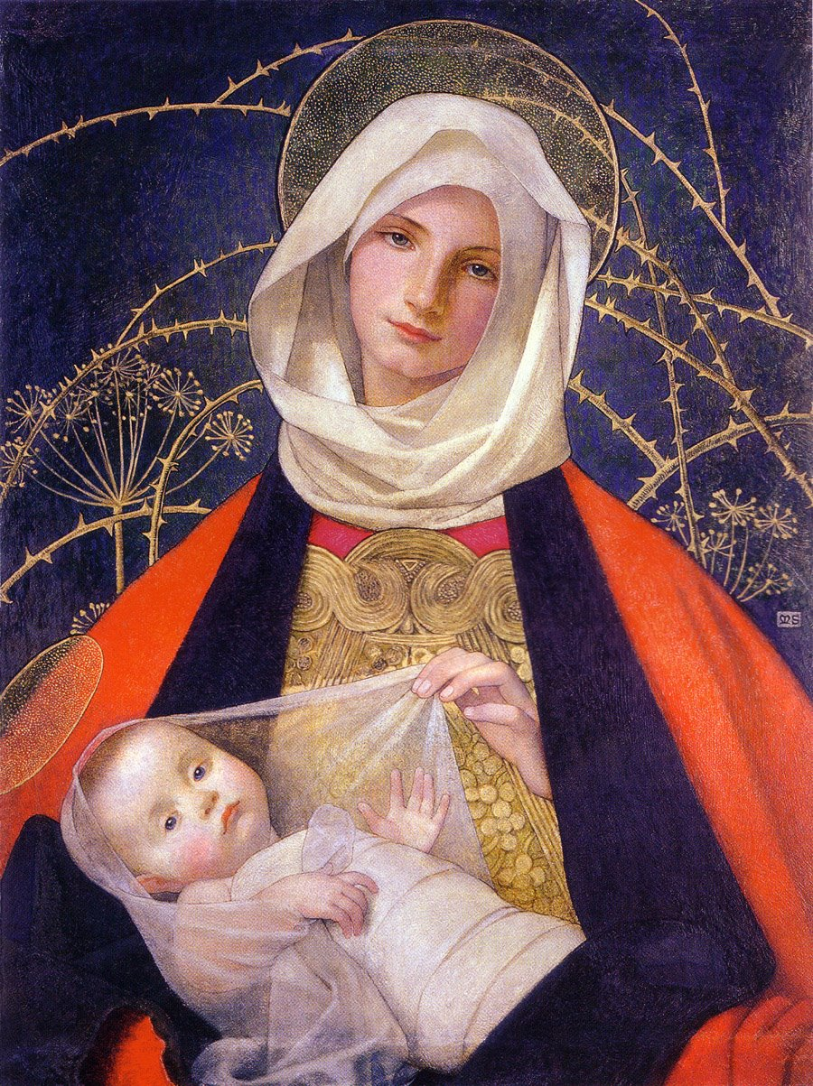 The blessed Virgin dans immagini sacre Holy+Mary+Mother+of+God