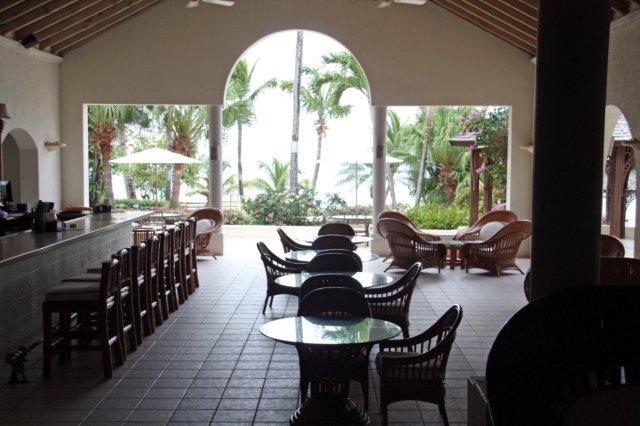Bar The Pelican en el complejo hotelero Blue Waters en Antigua