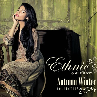 Ethnic by Outfitters Winter Collection 2014
