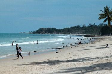 Pantai Matras Nan Eksotis, Bangka