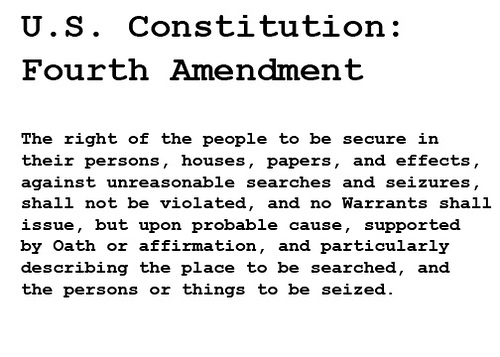 the codification of the fourth amendment essay Fourth amendment codification and professor kerr's misguided call for judicial deference witnessing a codification of the fourth amendment this essay examines the development of fourth in the bill of rights-the fourth, fifth, and sixth amendments-address issues of criminal.
