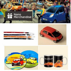 Tata Nano & Safari merchandise 80% off from Rs. 8 || Ebay
