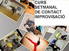 curs contact improvisació