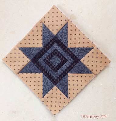 Miniature Block of the Month May 2015 - The Quilt Room