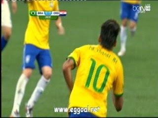 اهداف مباراة البرازيل وكرواتيا - الشوط الاول 1 - 1