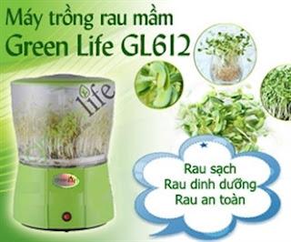 May trong rau mam Chinh hang Green life gia sieu khuyen mai