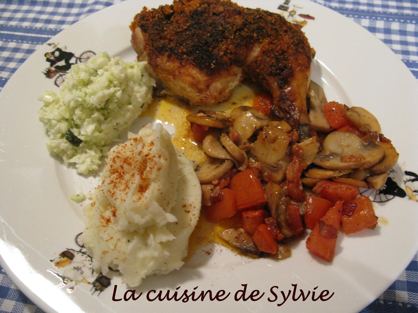La cuisine de sylvie poulet l 39 am ricaine - Cuisine a l americaine ...