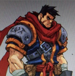 Garrison from Battle Chasers