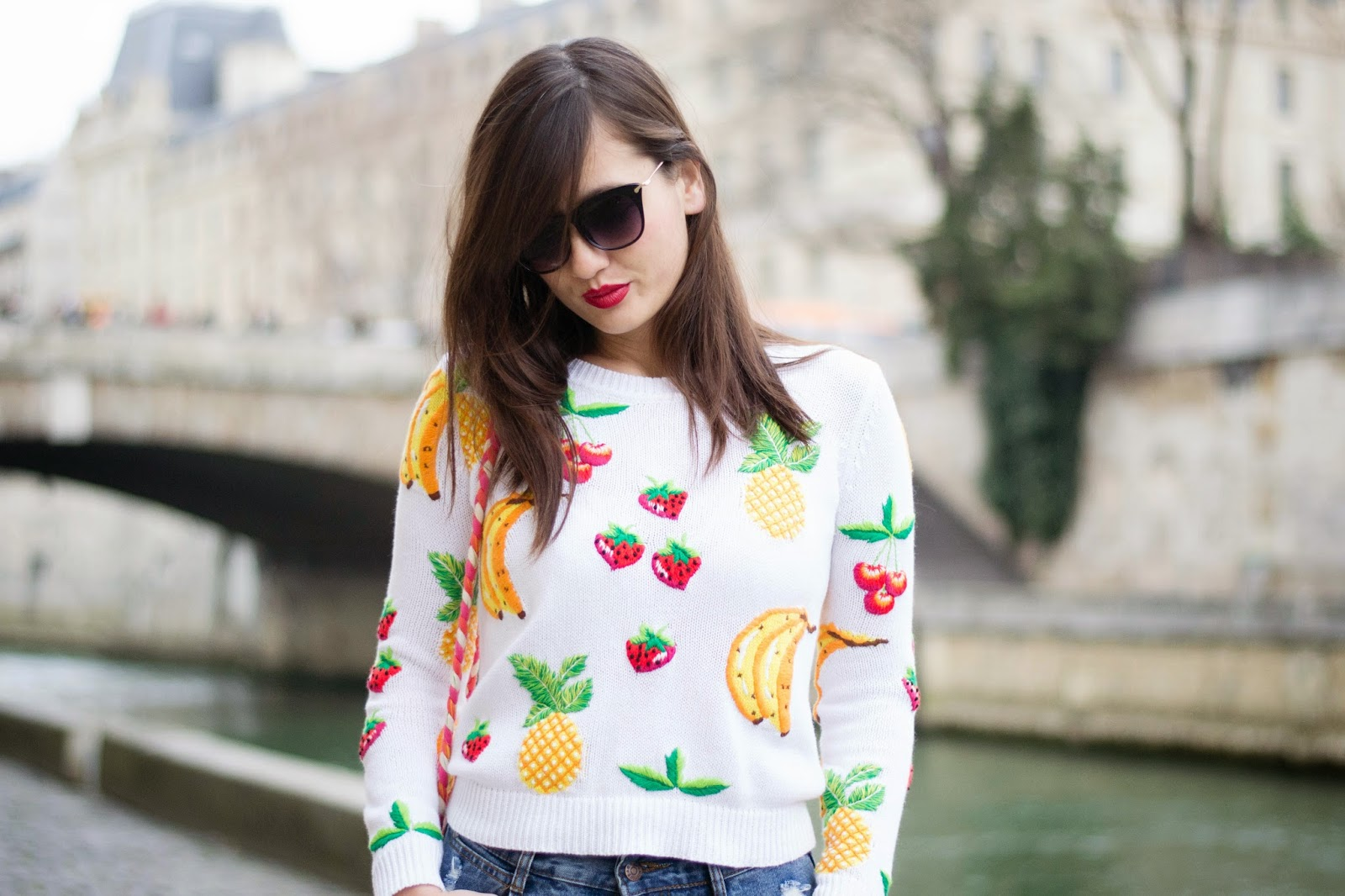 Fruit deisgn jumpers