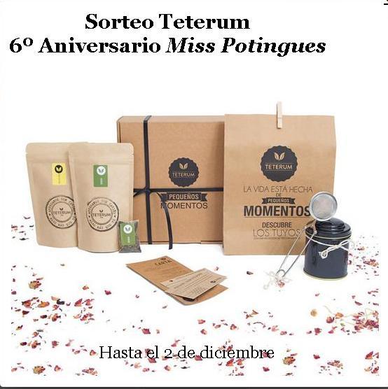 Sorteo Teterum 6º Aniversario Miss Potingues