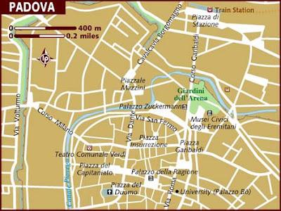 Mappa Politica di Padova
