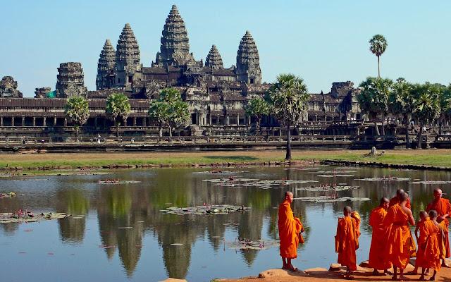 Templo de Angkor Wat, Camboya  Fotos de templos antiguos