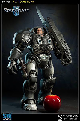 Sideshow Collectibles Starcraft II 1/6 Scale Raynor Figure