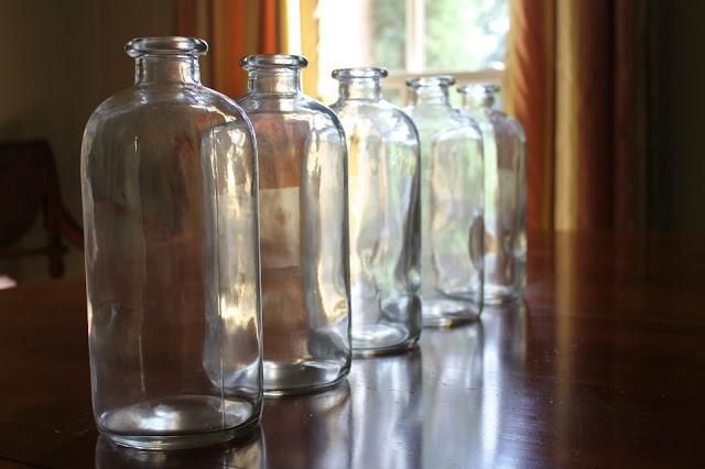 faux antique bottles